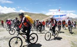 西藏第二届环羊湖自行车体验游将于8月16日揭幕