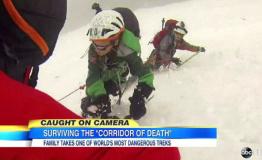 父亲带儿女登阿尔卑斯山最高峰遇雪崩险丧命