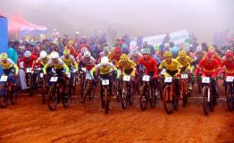 全国山地自行车冠军赛马龙站 115名选手参赛