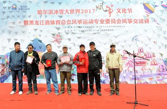 哈尔滨冰雪大世界2017风筝文化节