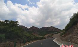 秦皇岛最美公路通车 环长城旅游公路一部分